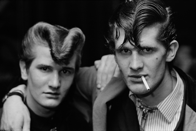 , 'Two brothers in Red Deer, Croydon,' 1976, The Photographers' Gallery