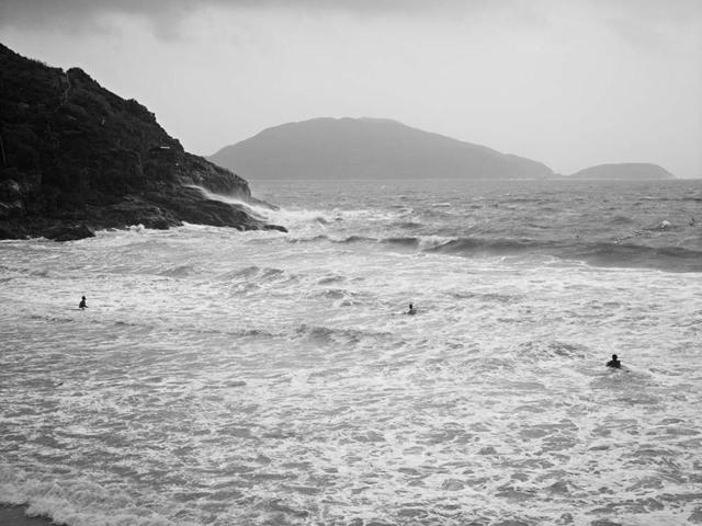, 'Passing Typhoon, Big Wave Bay, Hong Kong,' 2011, Pékin Fine Arts