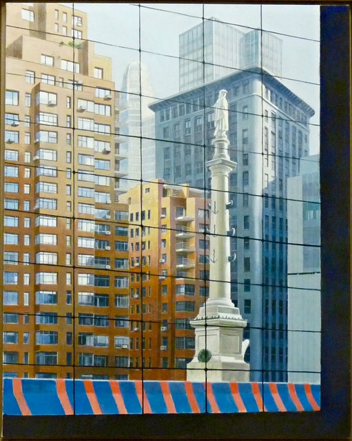 , 'Columbus Circle Looking South East From Time Warner Center,' 2008, Alpha 137 Gallery