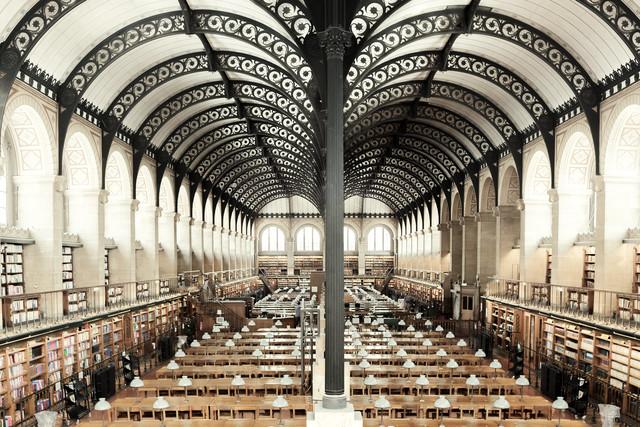 , 'Bibliotheque Sainte Genevieve,' , ArtStar