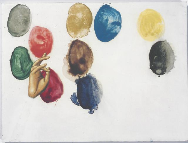 , '10 pigments,' 2001, NoguerasBlanchard