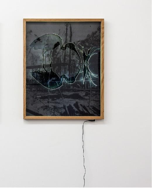 , 'Wooden Derrick,' 2017, MARS