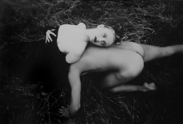 David LaChapelle, 'Nude Man and Woman in the Grass', 1986, ClampArt