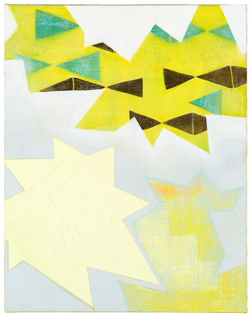 , 'Yellow Spark,' 2014, ZINC contemporary