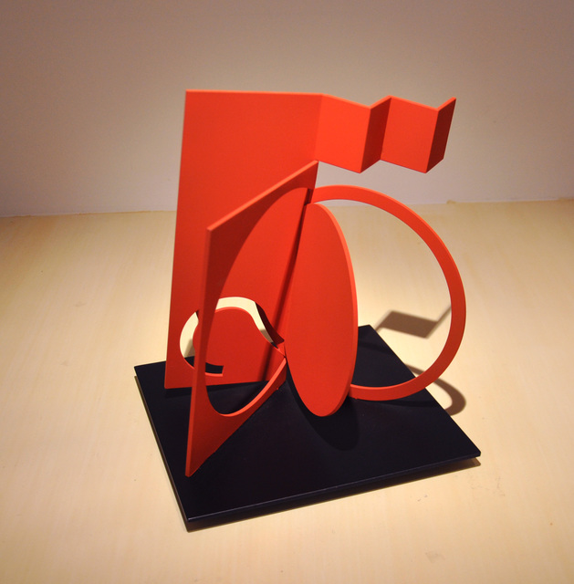 , 'Folded Square Alphabet S,' 2013, McClain Gallery
