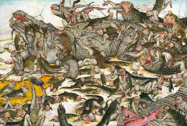 , 'Alligator,' 2015, Gallery Poulsen