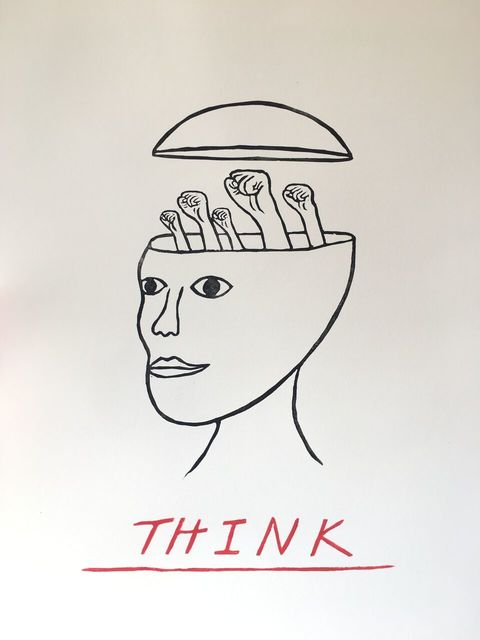 , 'Think,' 2017, Phylogeny Contemporary