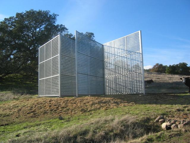 , 'Wind House,' 2003, di Rosa