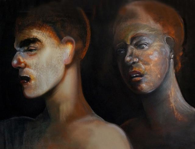 , 'Lovers Series No. 35,' 2017-2018, Charles Nodrum Gallery