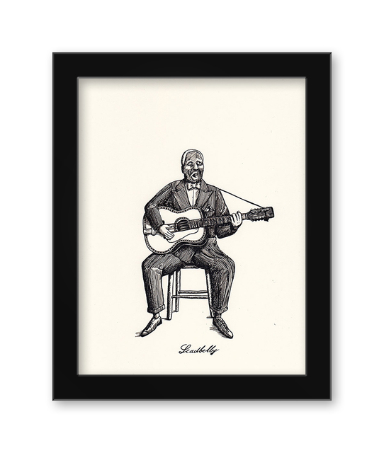 , 'Leadbelly,' 2017, Spoke Art