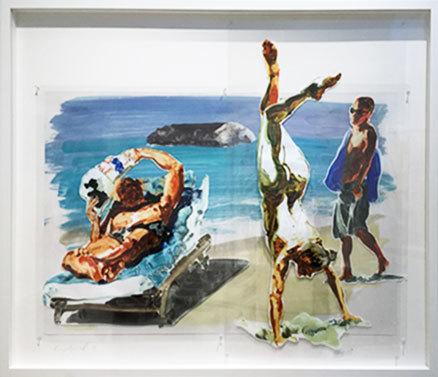 Eric Fischl, 'Untitled (Handstand)', 2017, Galerie de Bellefeuille