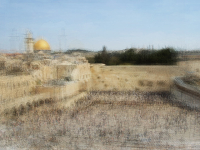 ", 'Jerusalem, from the series ""Photo Opportunities"",' 2004-2015, Danziger Gallery"