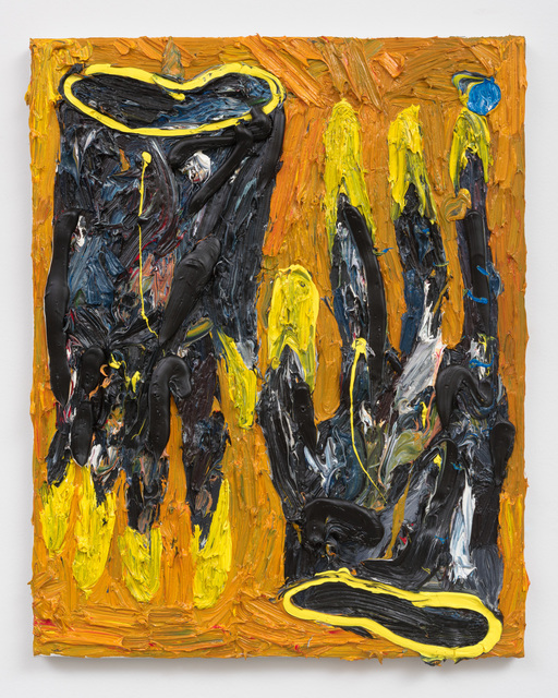 , 'Paint Glove (Orange),' 2016, Shane Campbell Gallery