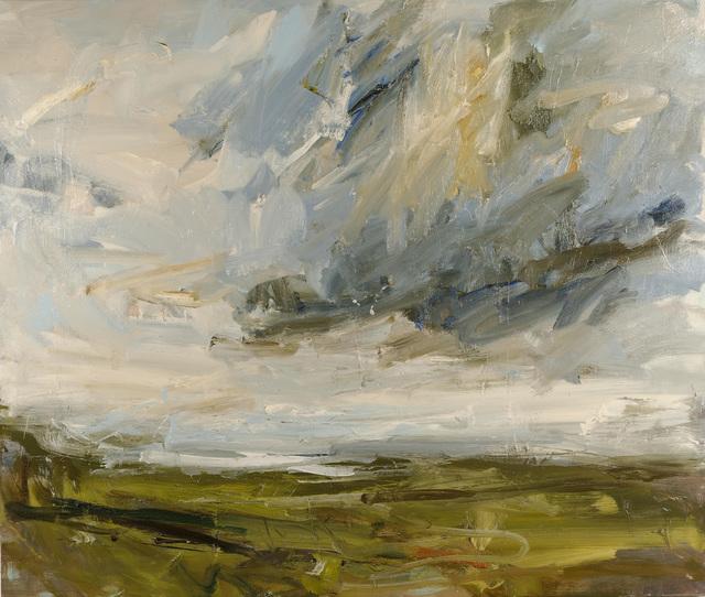 , 'White surf, Cape Cornwall from Carn Brea,' 2018, Cadogan Contemporary