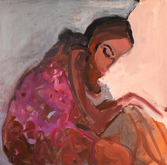 , 'Pink Flowers,' 2017, Arusha Gallery