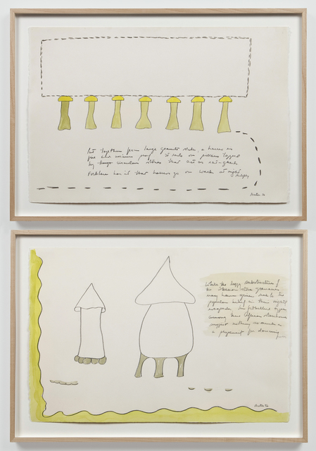 , 'Untitled (Rudofsky I and II),' 1972, Alexander and Bonin