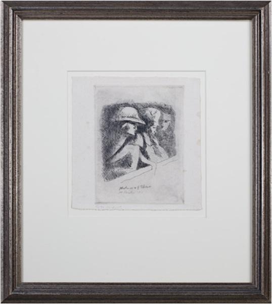 , 'Matinee a l'Odeon  Ed: 13/30,' 1919, David Barnett Gallery