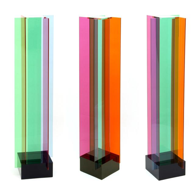 , 'Transchromie B a 4 Elements,' 1965-2010, RGR+ART