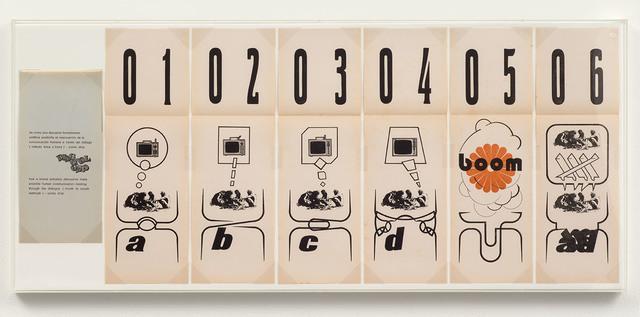 , 'Comic Strip,' 1972, Richard Saltoun