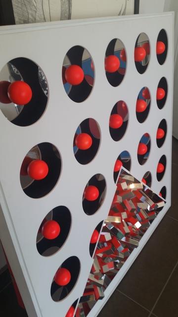 Yutaka Toyota, 'Espaço Invisível Vermelho', 2010, Arte Fundamental