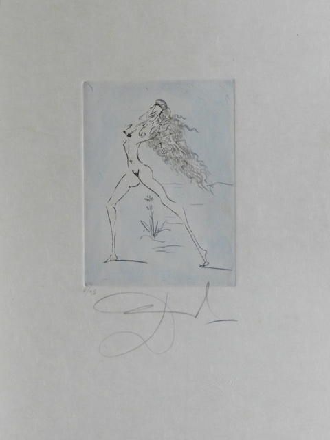 Salvador Dalí, 'Petites Nus (From Appollinaire) E', 1972, Fine Art Acquisitions