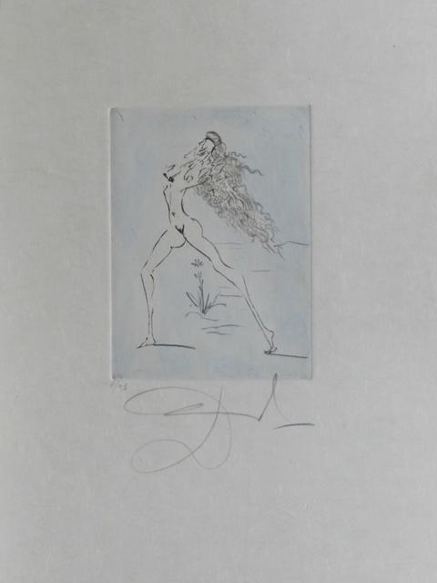 Salvador Dalí, 'Petites Nus (From Appollinaire) E', 1972, Print, Etching, Fine Art Acquisitions Dali