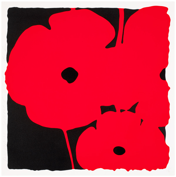 , 'Poppies (Red),' 2011, Nikola Rukaj Gallery