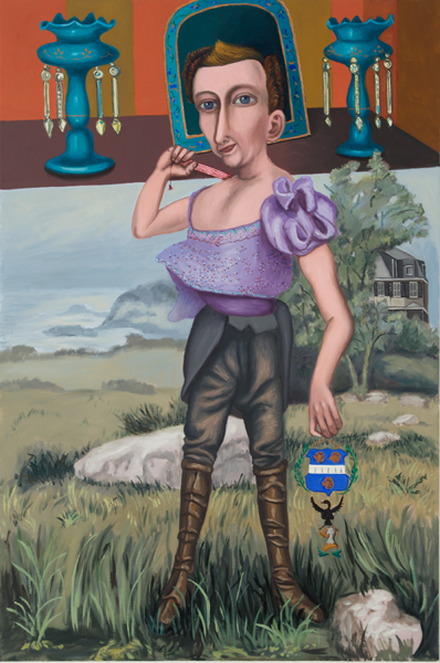 Hannah Barrett, 'Tales from the House of Gibson: Miss Going', 2009, Painting, Oil on linen, Childs Gallery