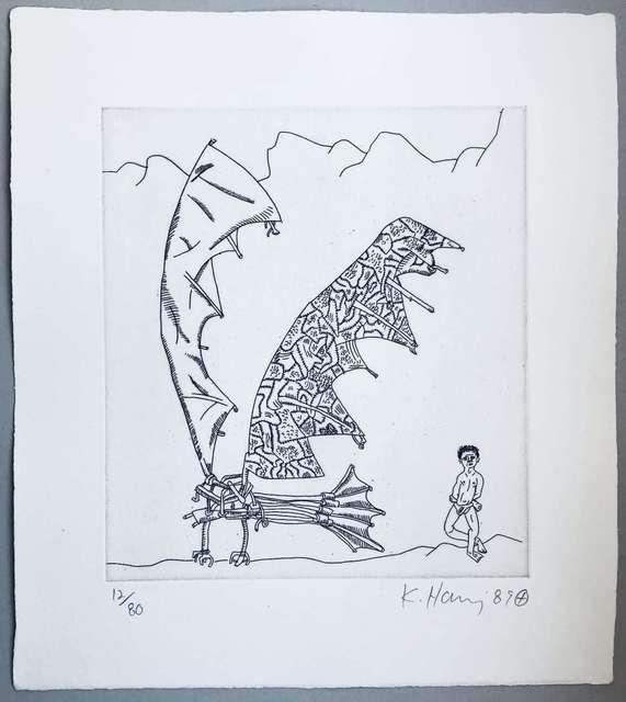 , 'Flying Machine,' 1989, Rhodes