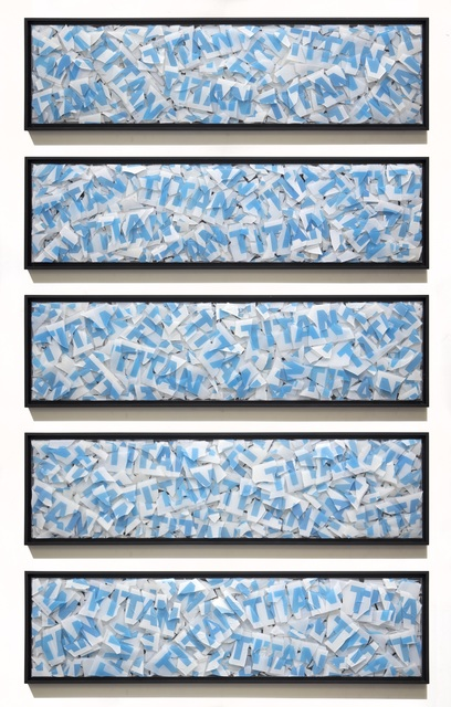 , 'Titan Smash,' 2017, Harlan Levey Projects