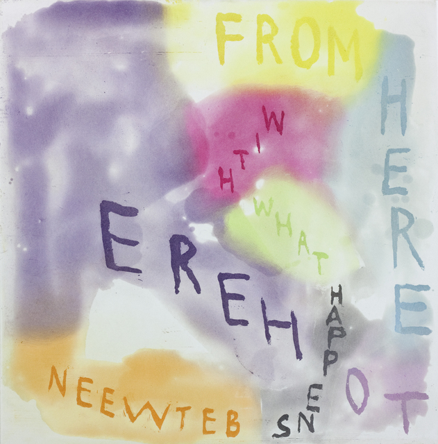, 'FROM HERE TO HERE WITH WHAT HAPPENS BETWEEN,' 2014, Paulson Fontaine Press