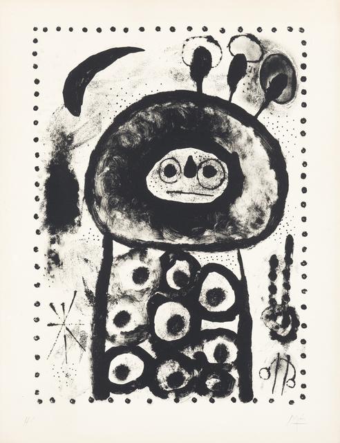 Joan Miró, 'Diane d'Ephèse', 1958, Levy