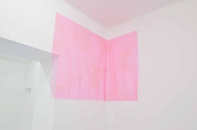 , 'Untitled, Pink Tulle (Floor),' 2015, Travesia Cuatro