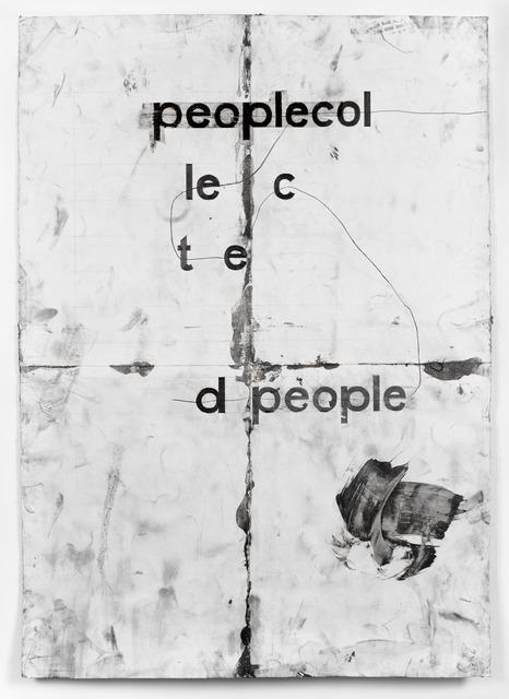 , 'peoplecol,' 2013, Whitney Biennial 2014