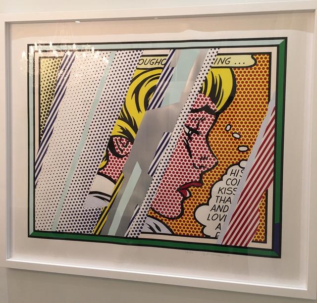 Roy Lichtenstein, 'Reflections Series: Reflections on Girl', 1990, Coskun Fine Art