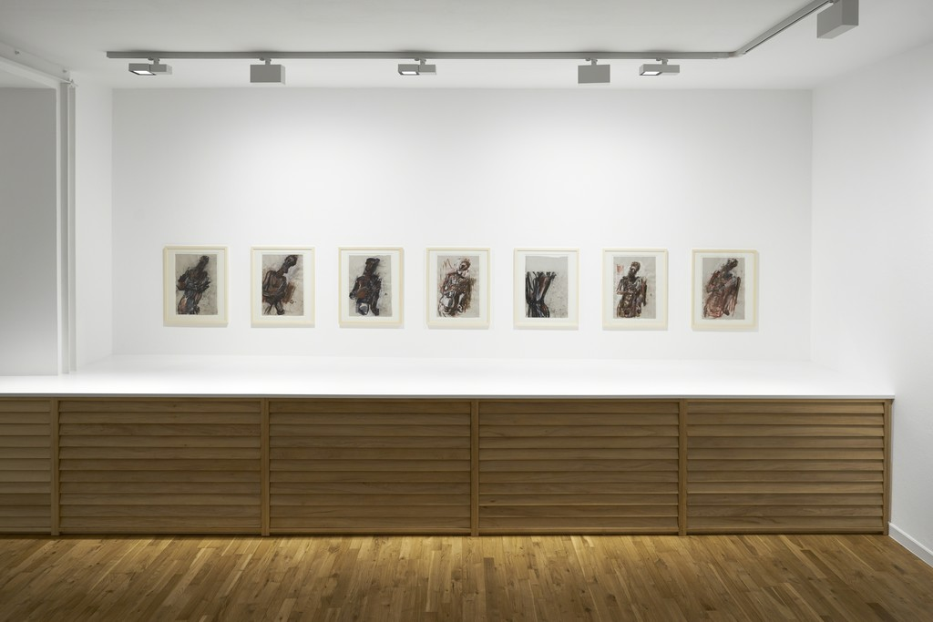 Markus Lüpertz. Studies of a Sculpture, 2017, Installation view