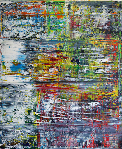 , 'Abstract with Paint #215,' 2016, FP Contemporary
