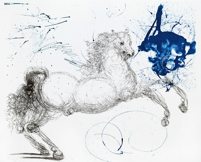 Salvador Dalí, 'Mythology - Pegasus ', Winn Slavin Fine Art