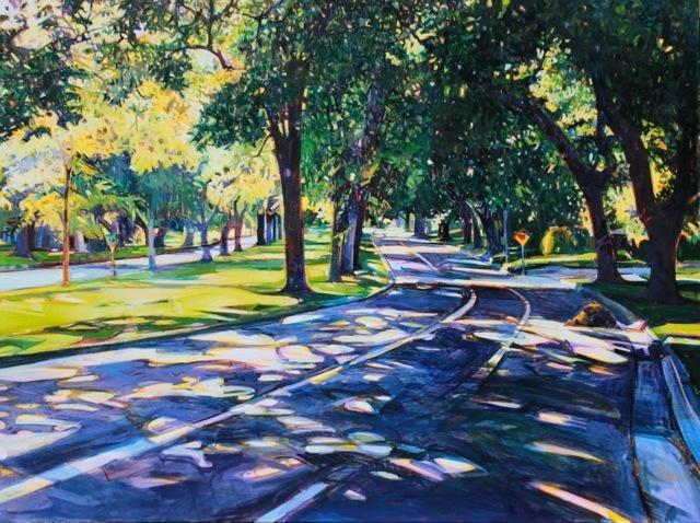 Miles Hermann, 'T Street', Tim Collom Gallery