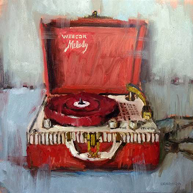 Bradford J. Salamon, 'William Wray's Childhood Turntable', 2019, Sue Greenwood Fine Art