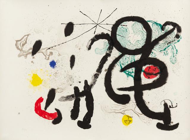 Joan Miró, 'Danse Barbare', 1963, Hindman