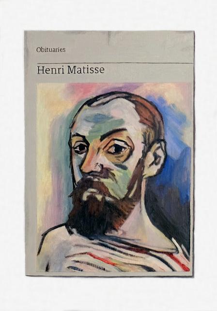 , 'Obituary: Henri Matisse,' 2018, Charlie Smith London