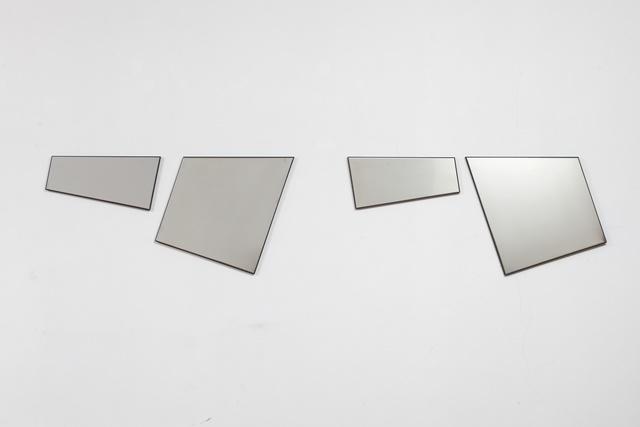 , 'Quadri Comunicanti in acciaio,' 2011, Cortesi Gallery
