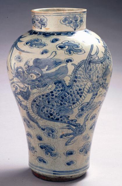 , 'Dragon Jar,' 19th century, Newark Museum