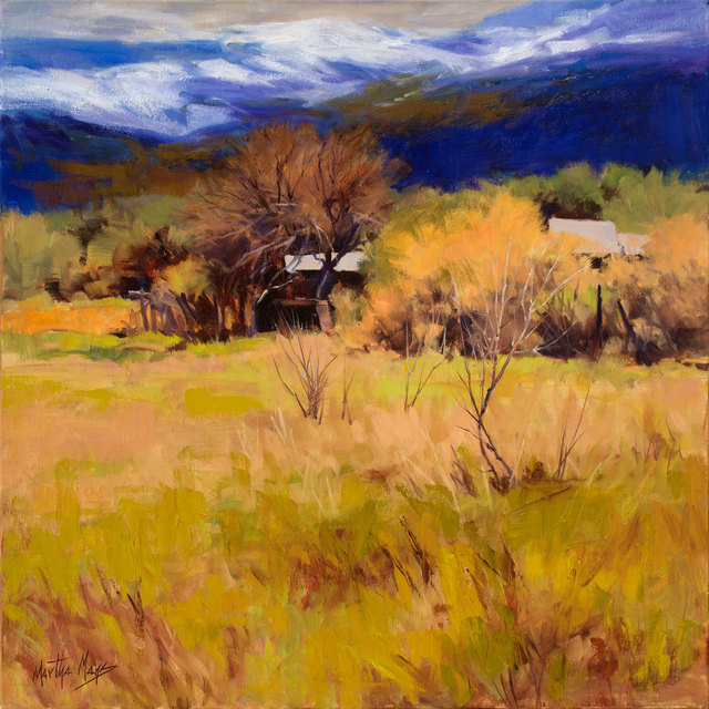 , 'Spring Snow Taos,' 2017, Owen Contemporary