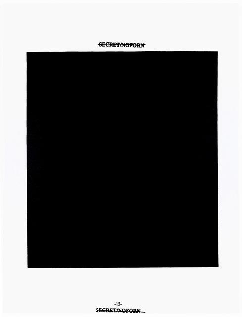 , 'Black - 15,' 2008, Fondation Beyeler