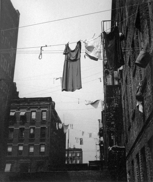 , 'Untitled, New York (Clothesline w/ Dress),' 1930, PDNB Gallery