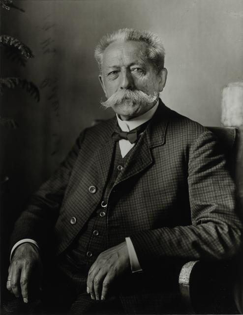 August Sander, 'Retired Privy Councillor, 1911–1914', Galerie Julian Sander