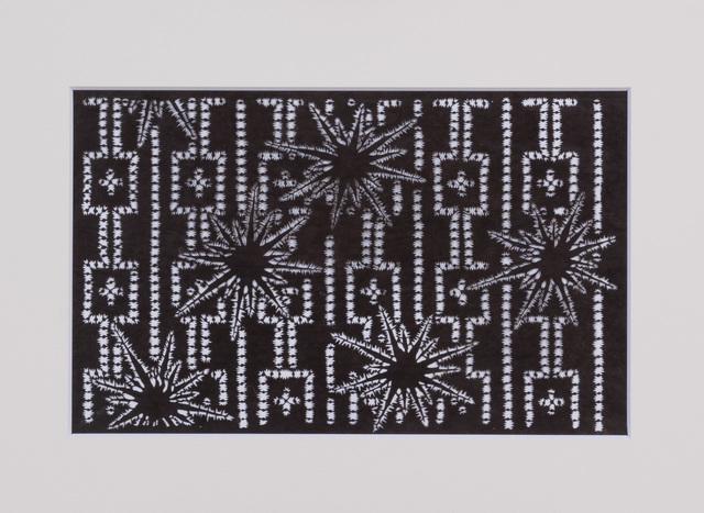 , 'Ise katagami (stencil), Iris pattern, Japanese, Meiji period,' 1868-1912, Micheko Galerie