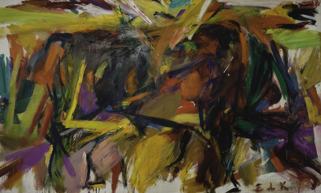 Elaine de Kooning, ' Bullfight', 1959, Denver Art Museum